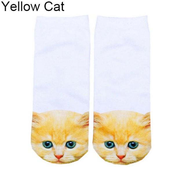 Cat Lover Ankle Socks
