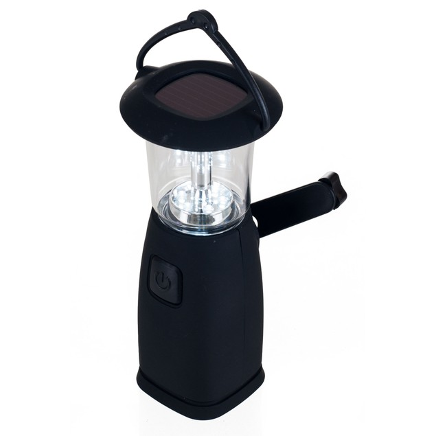 Whetstone 6 LED Camping Lantern - Solar and Dynamo Powered
