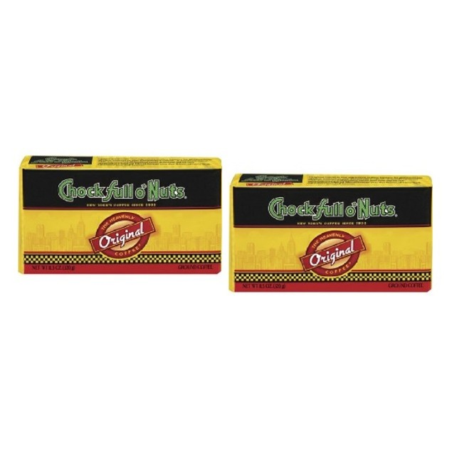 Chock Full O Nuts Original Ground Coffee Refill 2 Pack