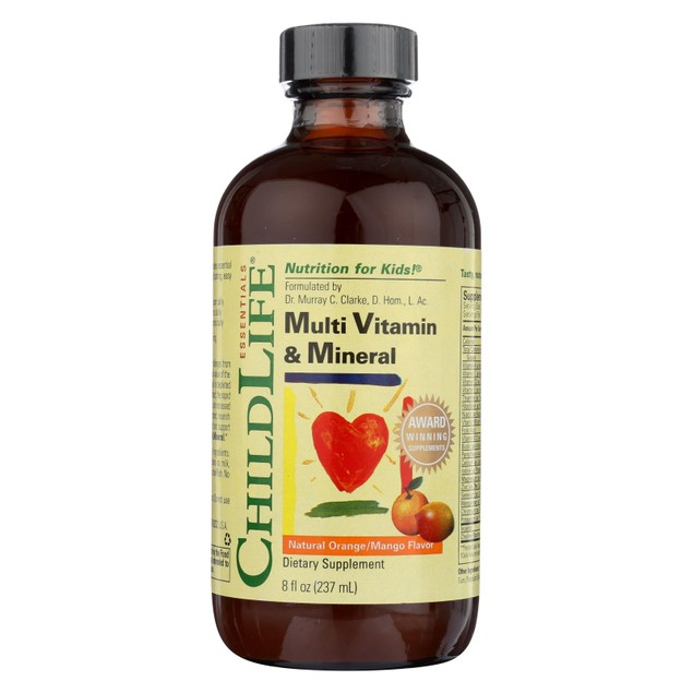 Childlife Multi Vitamin and Mineral Natural Orange Mango - 8 fl oz
