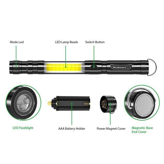 Stalwart Multifunction Flashlight