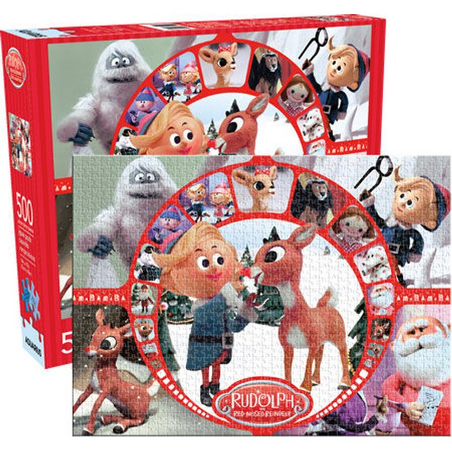 Rudolph The Red Nosed Reindeer 500 Piece Puzzle Bumble X-Mas Christmas Gift