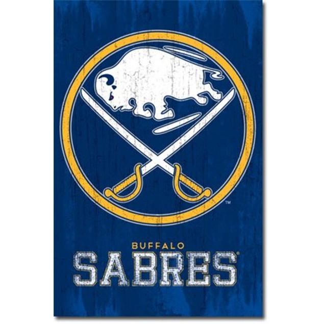 Buffalo Sabres Logo Poster National Hockey League NHL Gift Wall Decor