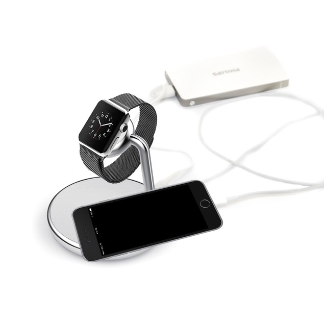 iPM Apple Certified Apple Watch Series 1&2 Built-in Charging Dock