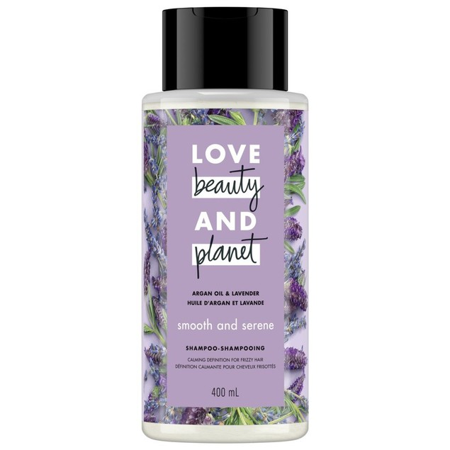 Love Beauty And Planet Argan Oil & Lavender Smooth & Serene Shampoo 400 Ml