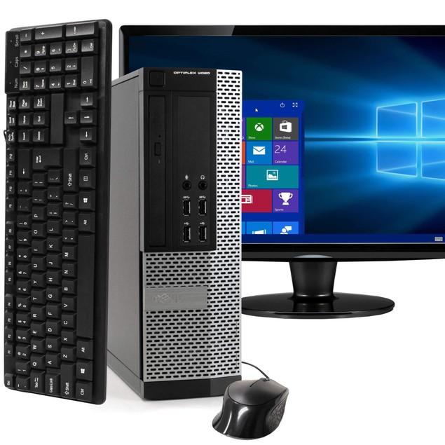"Dell 9020 Desktop Bundle with 22"" Monitor (Intel Core i5, 8GB RAM, 1TB HDD)"