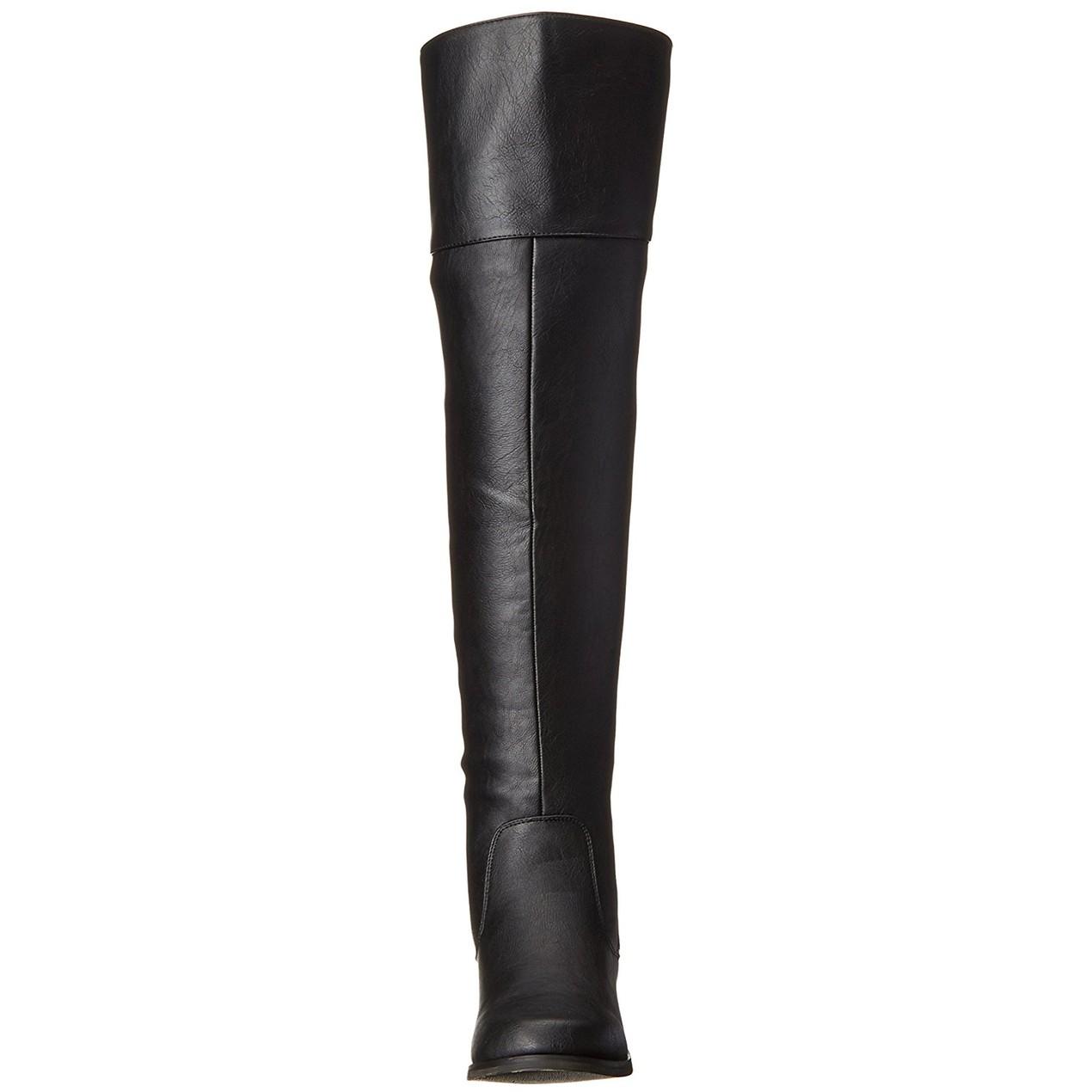 35c871f5c82 XOXO Womens Bardot Almond Toe Over Knee Fashion Boots - Tanga