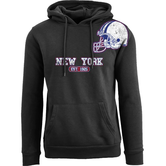 Women's Awesome Football Helmet Pull Over Hoodie