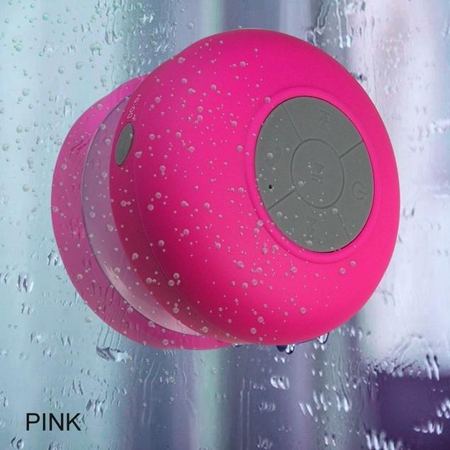 2-Pack Water Resistant Bluetooth Shower Speakers
