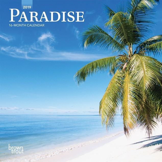 Paradise Mini Calendar, Beaches by Calendars