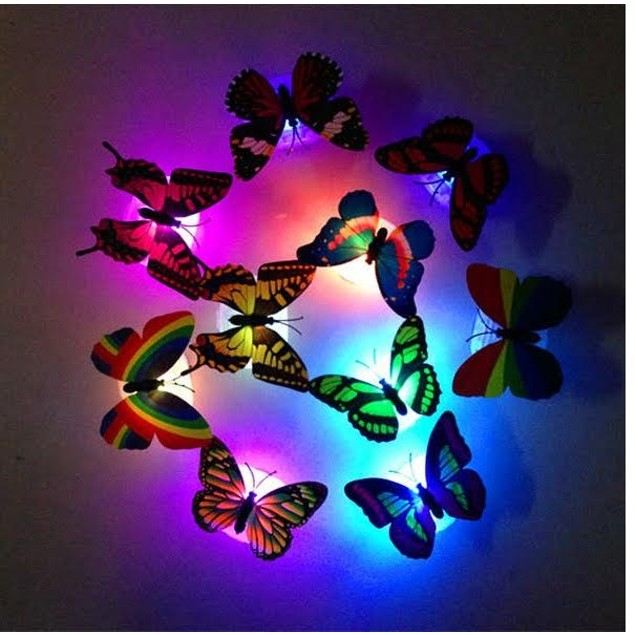 LED Butterfly 4-Pack