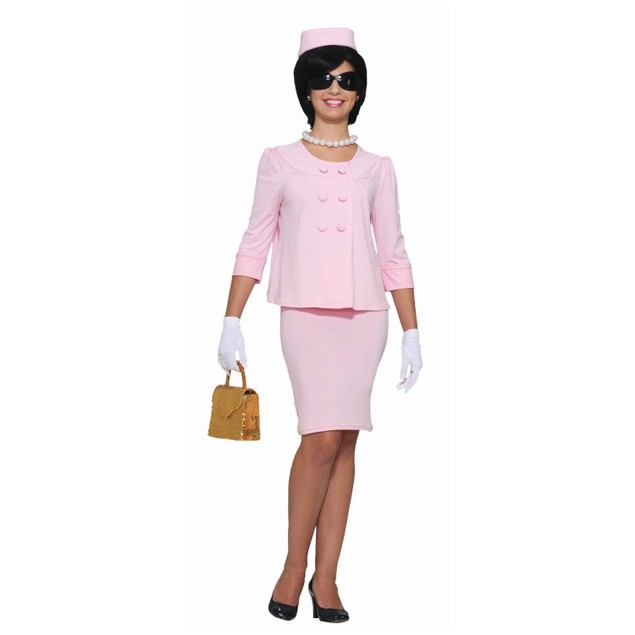 Jackie O Pink First Lady Womens Costume