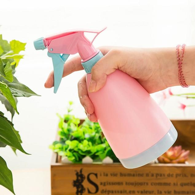 Watering Can Pot Graden Flower Spray Bottle Hand Pressure