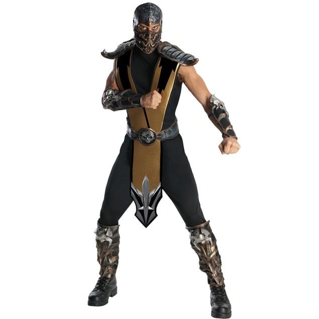 Scorpion Mortal Kombat Adult Costume