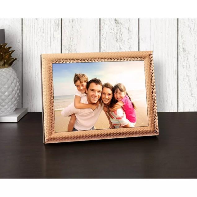 "Polaroid 8"" Touchscreen Wi-Fi & Smartphone Connectivity Photo Frame, Rose"