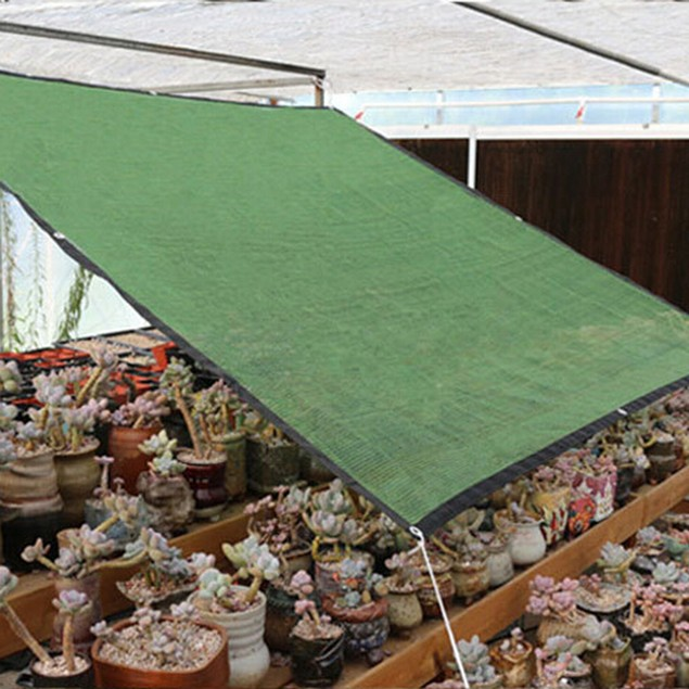 Anti UV Net Garden Patio Succulent Plant Sun Shelter Awning Shade Canopy