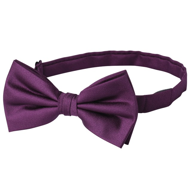 Jacob Alexander Men's Tone on Tone Metallic Pre-Tied Bow Tie