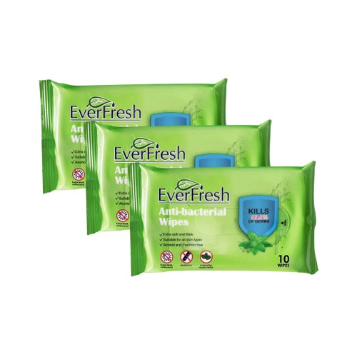 EverFresh Anti-Bacterial Wipes