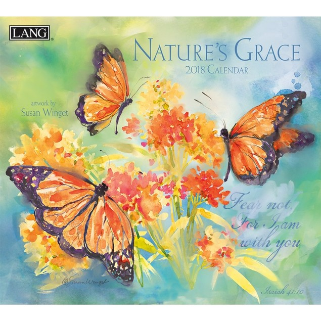 Nature's Grace Wall Calendar, LANG Wall Calendar by Calendars