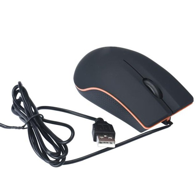 Optical USB Wired Game Mouse For PC Laptop Computer