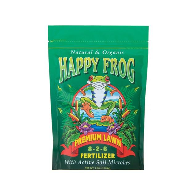 FoxFarm Happy Frog Lawn Fertilizer, 4 lbs