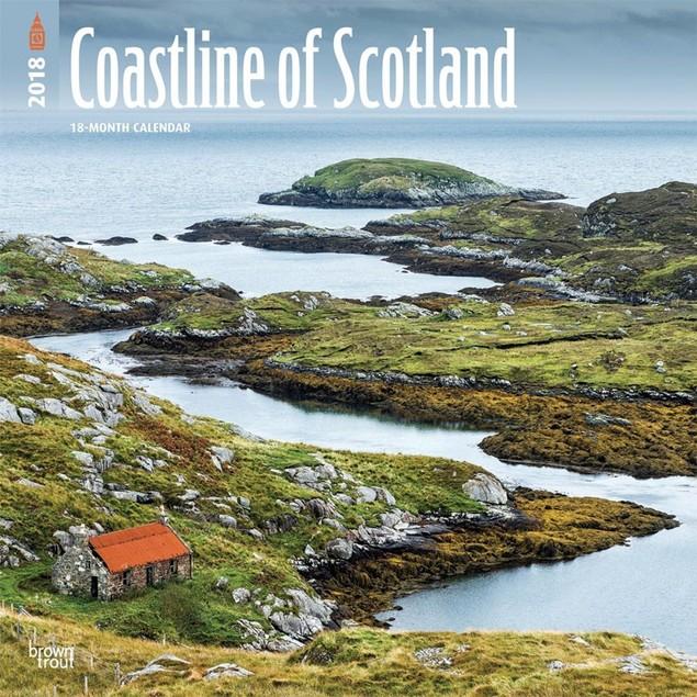 Scotland Coast Wall Calendar, Scotland by Calendars