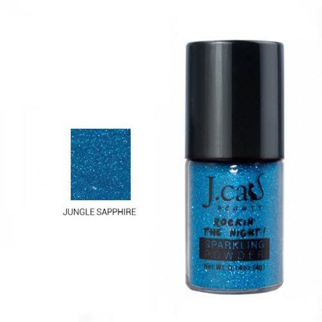 J.Cat Sparkling Powder 208 Jungle Sapphire