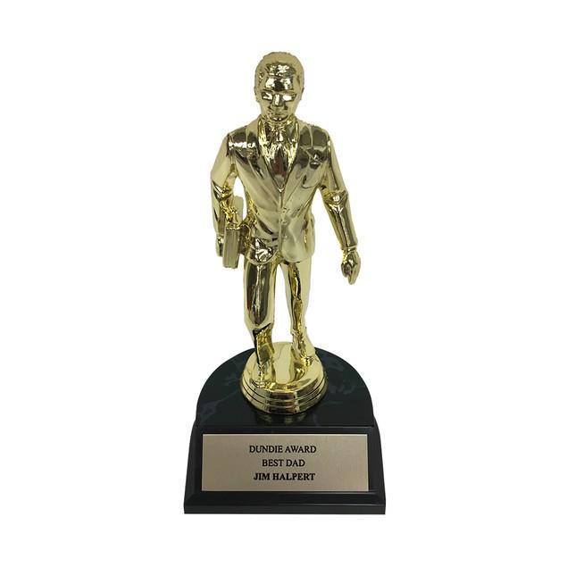 Jim Halpert Best Dad Dundie Award Trophy