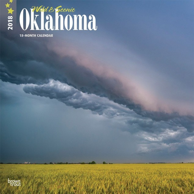 Oklahoma Wild & Scenic Wall Calendar, More U.S. States by Calendars