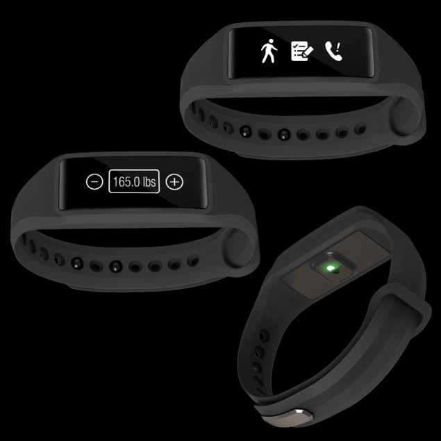 Striiv Bio 2 Plus Activity Tracker Compatible with Android and Apple