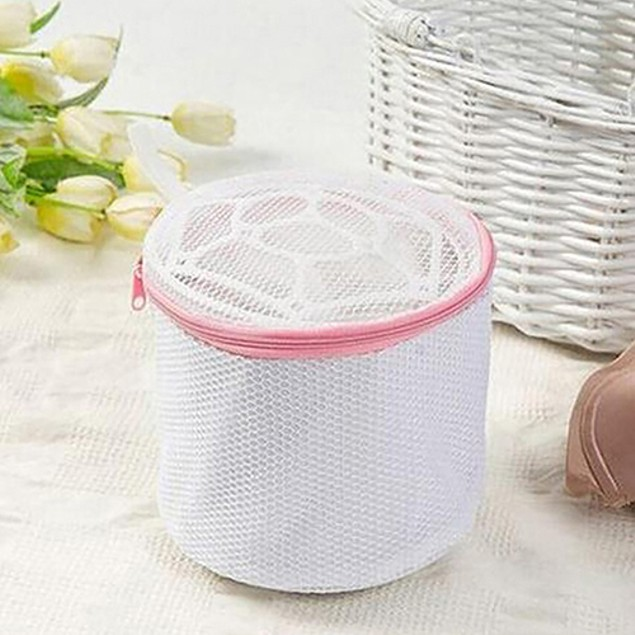Washing Machine Underwear Zipper Closure Laundry Mesh Net Bag