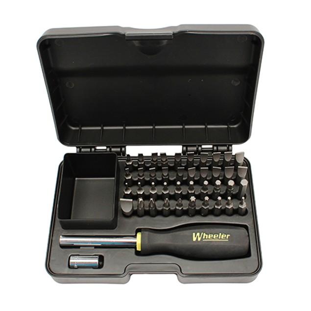 Wheeler Professional Gunsmithing Screwdriver Set, 43 Piece 954621