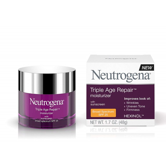 Neutrogena Triple Age Repair Anti-Aging Moisturizer SPF 25, 1.7 Oz