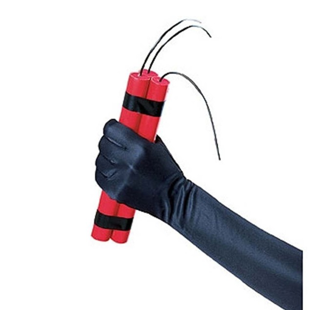 Fake Dynamite Costume Accessory Stick Bomb TNT Fuse Explosive Prop
