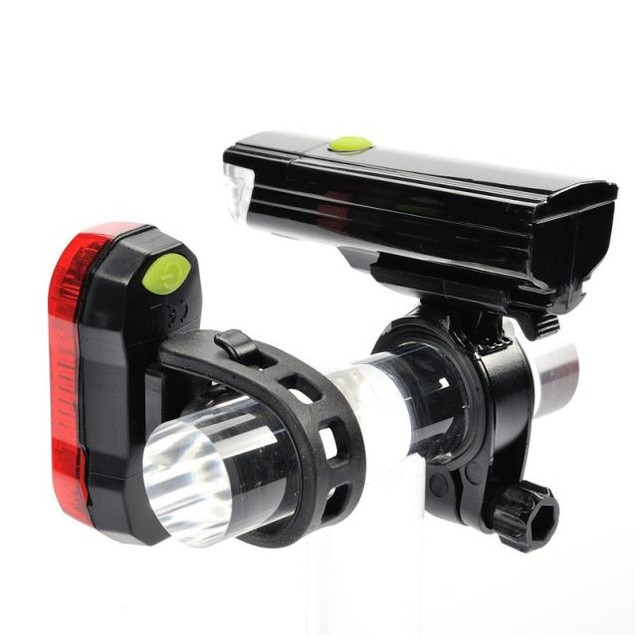 Leadbike Bicycle Headlight LED Taillights Suits Riding Safety Warning Light