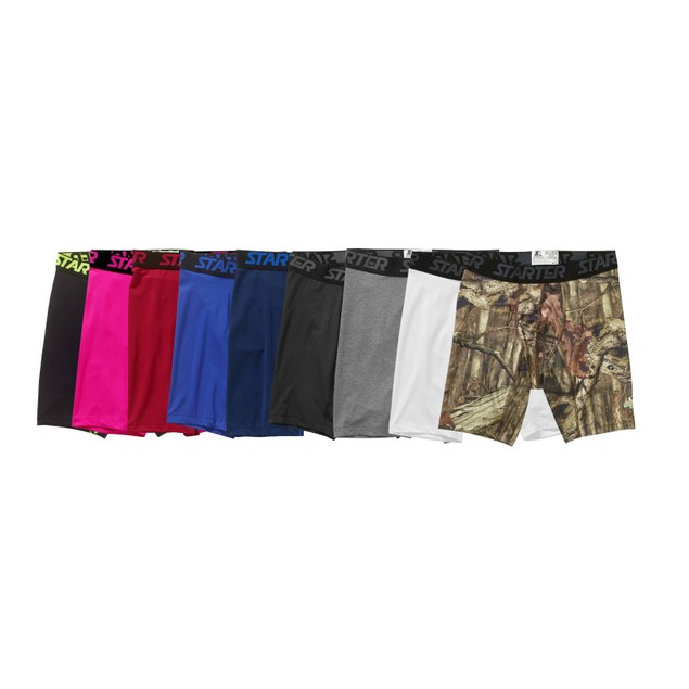 5-Pack Starter Men's Compression Boxer Briefs