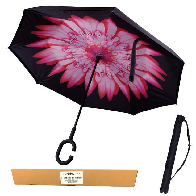 Reverse Folding Double Layer Inverted Umbrella