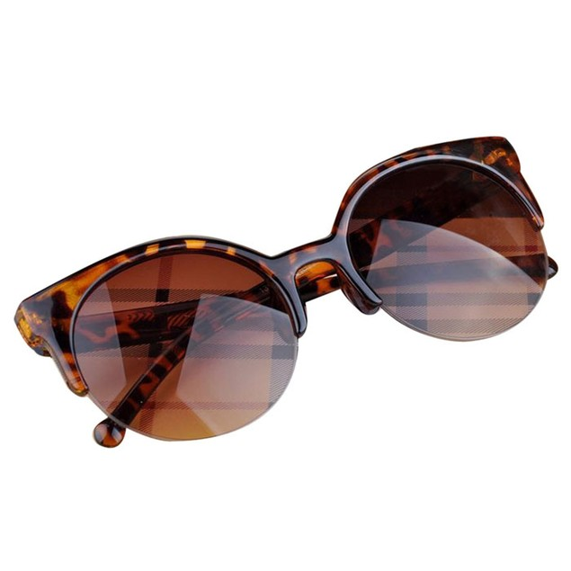 Vintage Style Cat Eye Sunglasses - 3 Styles