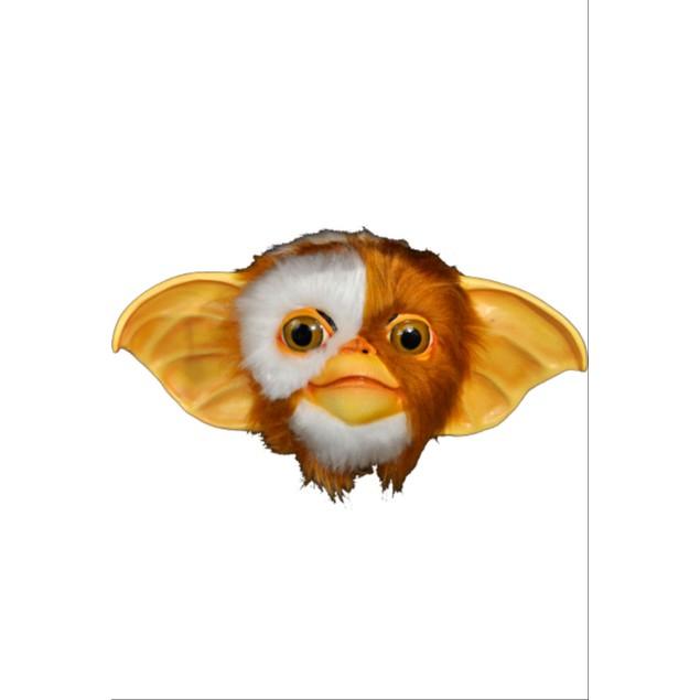 Gizmo Mask Gremlins Mogwai Movie Halloween Prop Costume Creature