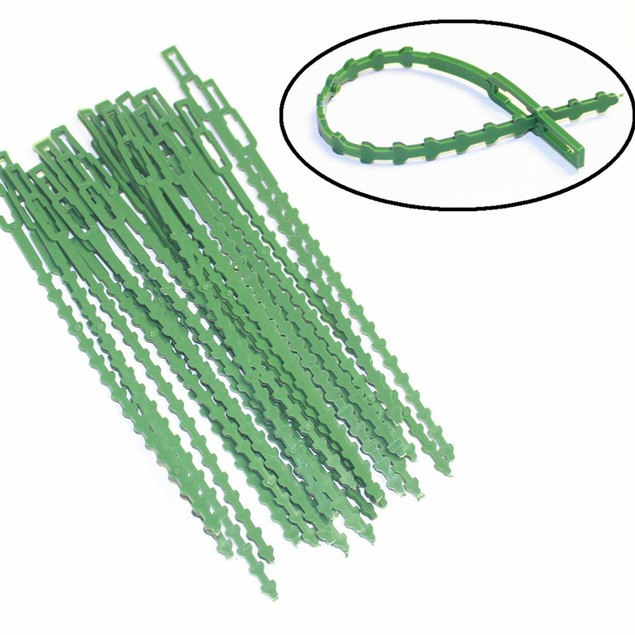 30Pcs Garden Cable Ties Reusable Plant Support Shrubs Fastener Tree
