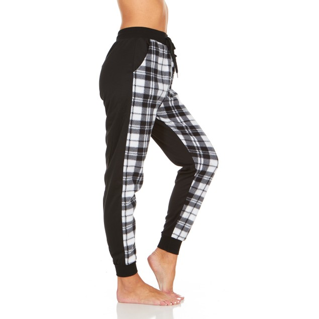 Women's Plaid Lounge Pants with Pockets