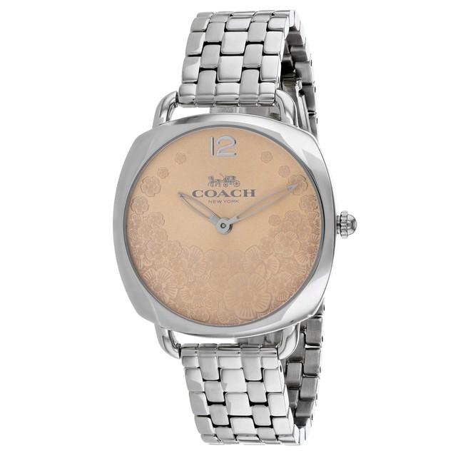 Coach Women's Tatum Slim Rose gold Dial Watch - 14503014