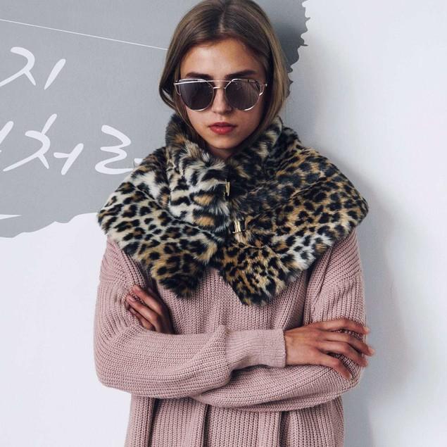 Women Scarf Warm Ladies Scarves Soft Neckerchief Short Scarf