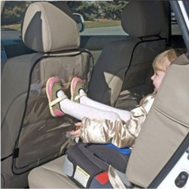 2Pcs Child Car Seat Back Protection Cover