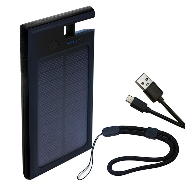 Wireless Qi Solar 10,000mah Charger