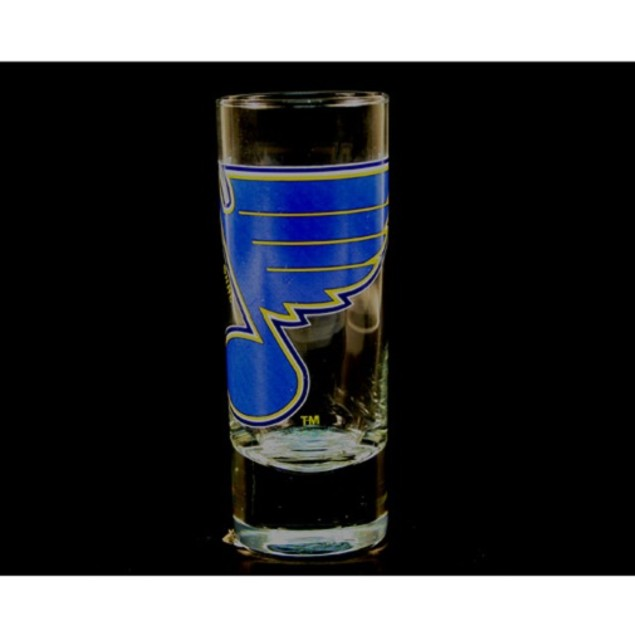 "St. Louis Blues NHL ""Hype"" Tall Shot Glass"