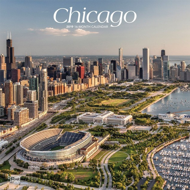 Chicago Wall Calendar, Chicago by Calendars