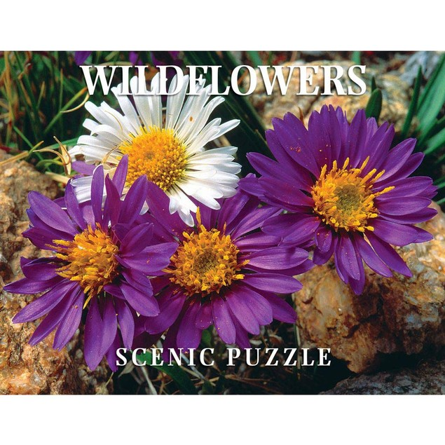 Wildflowers Scenic 300 Piece Puzzle, Wildflowers by Creative Arts Publishin