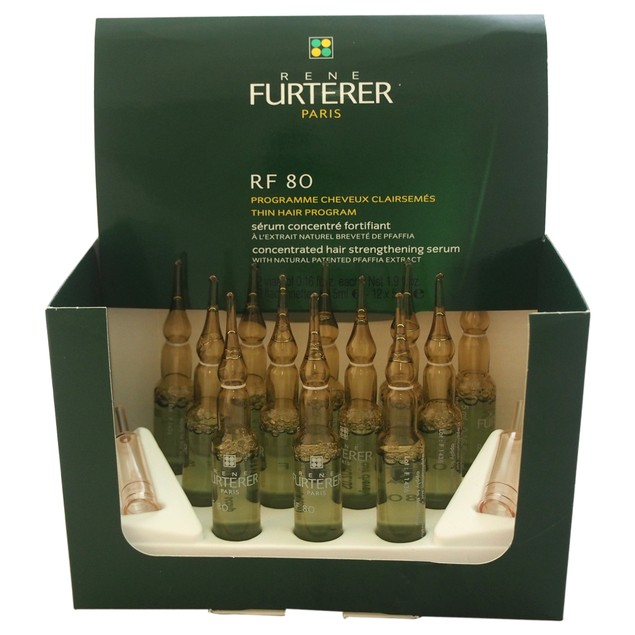 RF 80 Concentrated Serum Hair Loss Rene Furterer 12x5ml Treatment