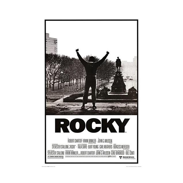 Rocky Steps Poster
